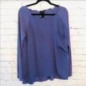 Anthropologie Dolan Long Sleeve Brookvale Tee